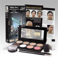 Mehron Mini-Pro Student Makeup Kit FAIR / OLIVE FAIR - Theater and Stage by Mehron