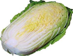 白菜【ハクサイ・はくさい】 1/2カット 芯の部分は細切りにしてサラダで!  【長野、北海道産】