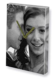 ALYSON HANNIGAN & SETH GREEN JS001 - Canvas Clock (A4 - Signed by the Artist) #js001