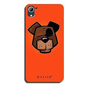 Mozine Flirty Bear printed mobile back cover for HTC desire 826