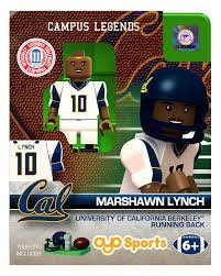 Marshawn Lynch OYO Generation 1 G1 California NCAA LE Mini Figure