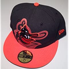 Baltimore Orioles 59Fifty New Era Hat Cap (7 7 8) by New Era