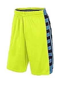 Nike Men's Elite Fanatical Basketball Shorts Neon Green