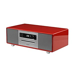 Review and Buying Guide of The Best SonoroSTEREO All-In-One Stereo Music System (CD/FM/DAB/DAB+ BT) Red