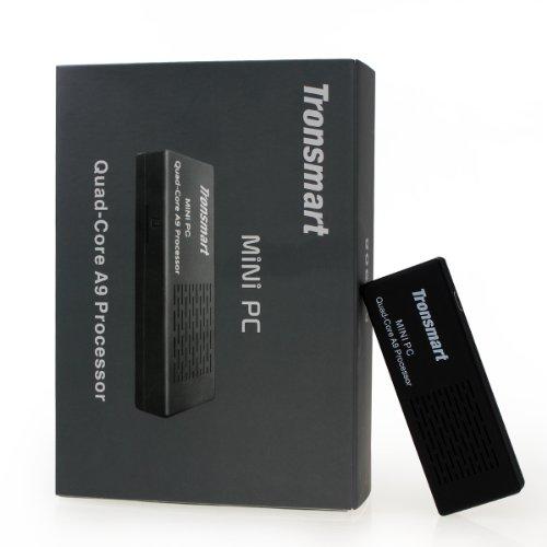 Best Deals! Tronsmart MK908 Google Android 4.1 Mini PC TV Box RK3188 Quad Core 2G/8G BT Black