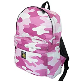 Pink Camo Backpack SMALLER than Huge Cumbersome Full-Size Packs- Cute Small Back Pack for Travel, Daypack School Bags Unique Gifts For Boys, Girls, College Students SALE-DISCOUNTED- Boy Girl or Adult