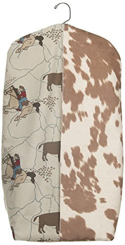 Sweet Potato Happy Trails Diaper Stacker, Brown/Cream