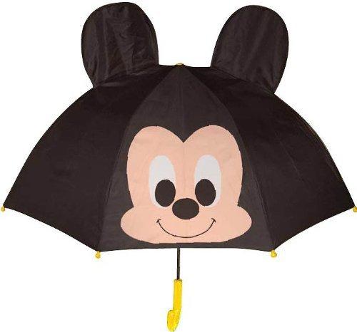 ■□ディズニーキャラクター 耳付きキッズ傘 「ミッキー」 19247 □■