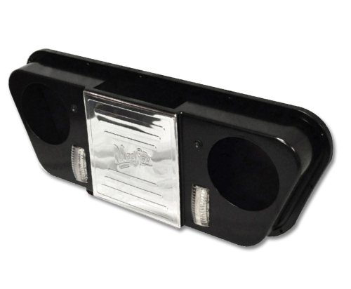 Club Car Roof Mount Stereo Console (Black)