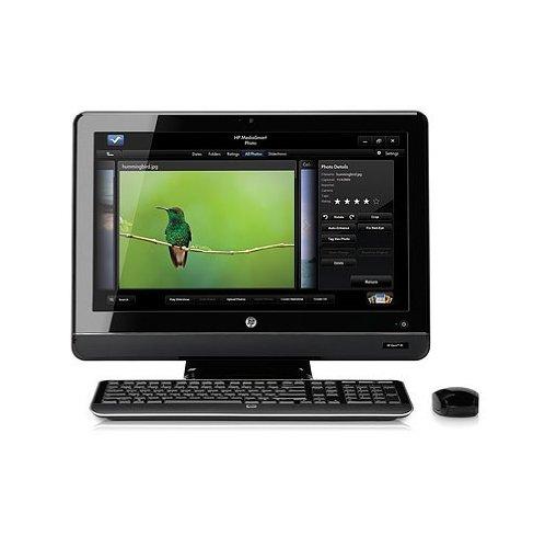 HP - 200-5400FR - ORDINATEUR DE BUREAU 21,5  - INTEL PENTIUM DUAL CORE E5800 - 750 GO - RAM 4096 ...