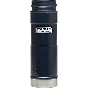 Stanley Classic One Hand Vacuum Mug 16oz Hammertone Navy