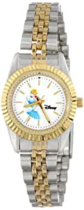 Disney Women's D124S776 Cinderella Two-Tone Bracelet Watch