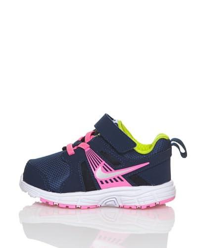 Nike Scarpa Running Dart 10 (V) Ltg [Blu Avio/Rosa]