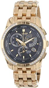 Citizen Men's BL8042-54E Eco-Drive Calibre 8700 Gold-Tone Diamond Watch