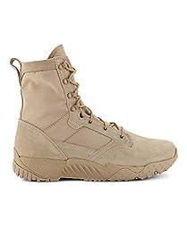 Under Armour Men\'s UA Jungle Rat Boots 10.5 Desert Sand