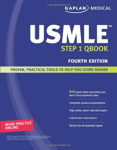 Kaplan Medical Usmle Step 1 Qbook (Kaplan Usmle Qbook)