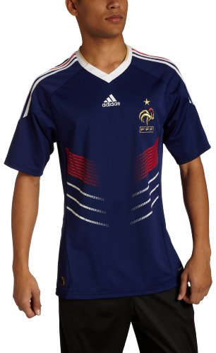 adidas France Home Jersey 09/11