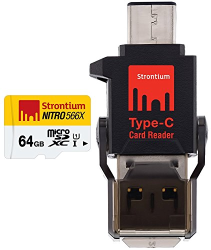 Strontium Nitro MicroSD with Type-C Card Reader
