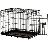 Precision Pet Black Black ProValu 2 Door Crate 2000 24 in. x 18 in. x 19 in.