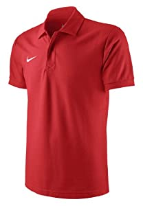 Nike Herren Polo T-Shirt Core, Rot, XL, 454800-657