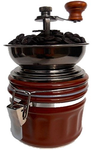 Best Price! CoffeeWerks Manual Canister Ceramic Burr Coffee Grinder