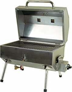Bubba's Bar-B-Q Oven CG Tailgater Tailgate Grill, Stainless Steel