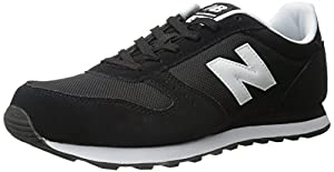 New Balance Men's Ml311 Lifestyle Fashion Sneaker, Black, 8.5 D US