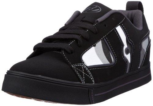 Heelys HELIX 7895, Unisex - Kinder Sneaker, Schwarz (Black/White/Camo), EU 38 (US 6)