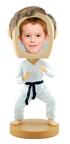 Male Karate or Martial Arts Photo Bobble Head
