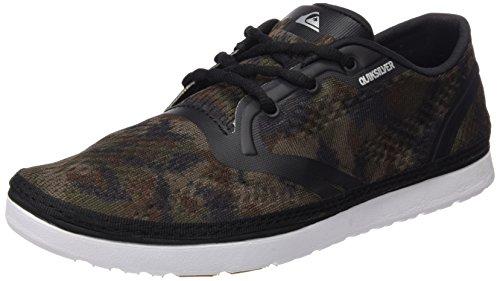 Quiksilver Uomo AG47 Amphb Shoe Scarpe da Ginnastica Basse Nero Size: 45