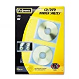 CD/DVD Vinyl Protector Sheets for 3-Ring Binders