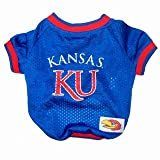 NCAA Kansas Jayhawks Dog Jersey Medium at Amazon.com