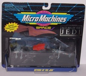 STAR WARS MICRO MACHINES SPACE VEHICLES, COLLECTION 3 - 1