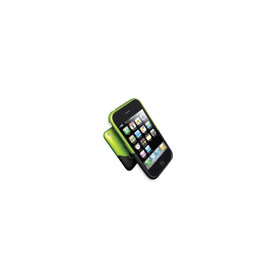 NEW OEM iFrogz Luxe Green and Black Case iPhone 3G 3GS