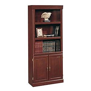 Amazon Com Sauder Heritage Hill 2 Door Bookcase Classic