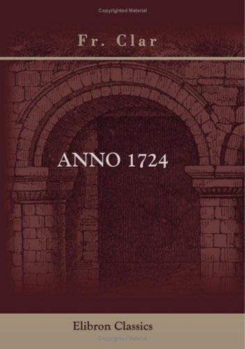Anno 1724: Zur Charakteristik der polnischen Herrschaft