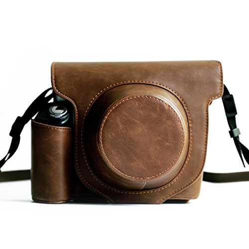 Fujifilm-Instax-Wide-300-Instant-Film-Camera-Case-with-strapHellohelio-Vintage-Leatherette-limited-Edition-groove-Bag-Brown