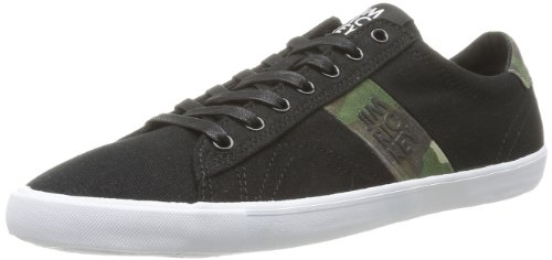 Jim Rickey Mens Deuce Lo Canvas Print Trainers