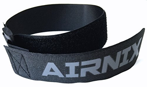 AIRNIX 4 Pack (18″ x 1.5″) Heavy Duty Sewn Hook & Loop Straps with Buckle