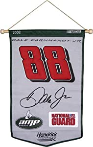 Mounted Memories Dale Earnhardt, Jr. 24 x 36 Wool Banner - Dale Earnhardt, Jr One... by Mounted Memories