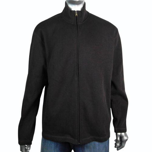 Mens Ben Sherman Full Zip Cardigan Jumper Mod Retro Sweater Warm Brown Size XL