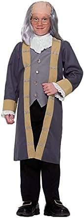 Forum Novelties Child's Ben Franklin Costume, Small