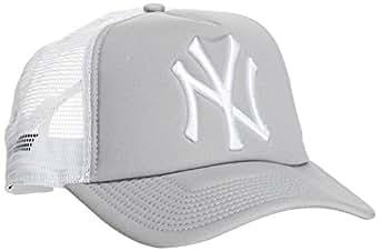 New Era 10531937 - Casquette de Baseball - Homme - Gris (Grey) - Taille unique (Taille fabricant: Taille unique)