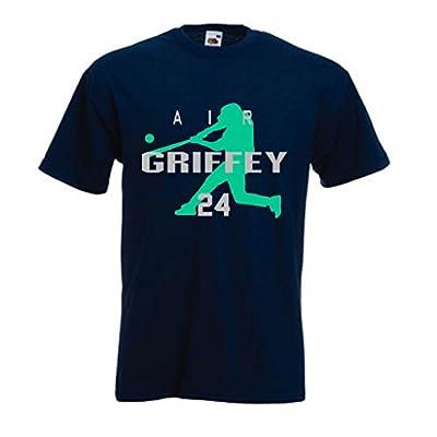 """Ken Griffey Jr Seattle Mariners """"AIR HOME RUN"""" T-Shirt"""