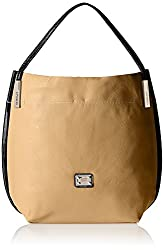 Gussaci Italy Women's Handbag (Camel) (GC541)