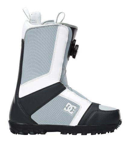 DC Men's Scout 2012 Performance Snowboard Boot,Grey/ White,11 M US