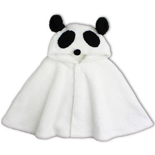 【パンダ】マント【フード付】【耳つき】【70cmから90cm】【ケープ】【ぱんだ】【耳付き】【ベビー服】【防寒】