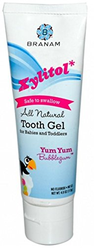 branam-oral-health-xylitol-tooth-gel-for-babies-and-toddlers-yum-yum-bubblegum-4-ounce