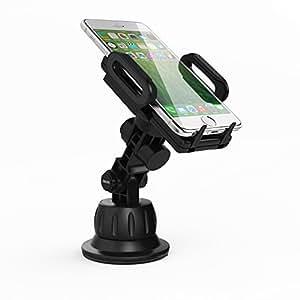 Satechi® Universal Car Holder & Mount for iPhone 6 Plus, 6, 5S, 5C, 5, Samsung Galaxy S6 Edge, S6, S5, Note 3, Nexus S, HTC One X, S, Motorola Droid Maxx, on Windshield & Dashboard (Car Holder)