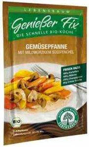 Lebensbaum Genießer-Fix für Gemüsepfanne (16 g) - Bio von Lebensbaum - Gewürze Shop